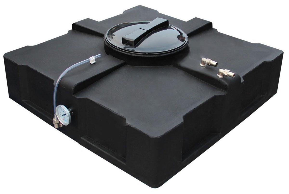 Бак для душа с электроподогревом 200 л