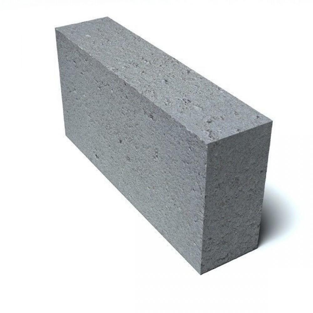 Блок бетонный фундаментный полнотелый 100х400х400мм
