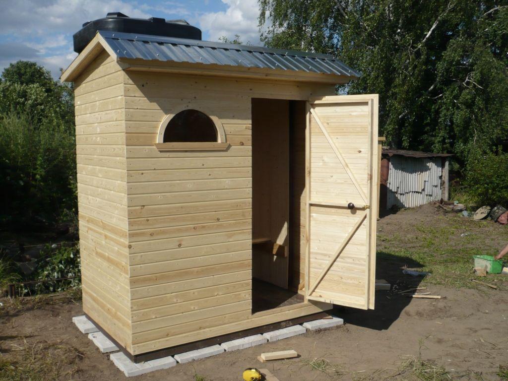 Душ для дачи деревянный Д-4 №1 3.0х1.0х2.4м