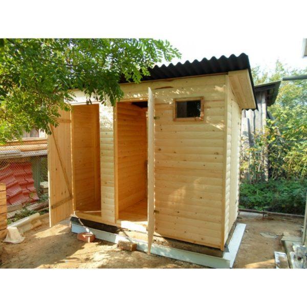 Хозблок с туалетом Ф-4 №6 2х1.2х2.1 м