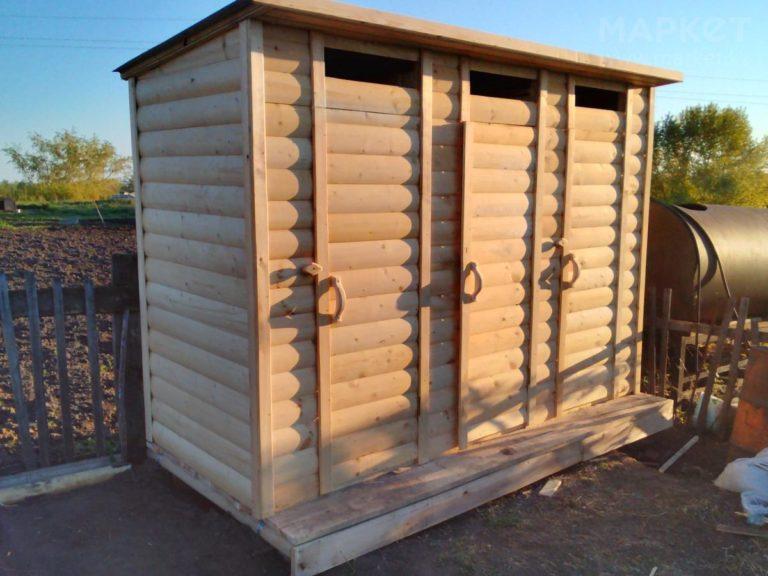 Хозблок с туалетом и душем Ф-13 №6 4х2х2.4 м