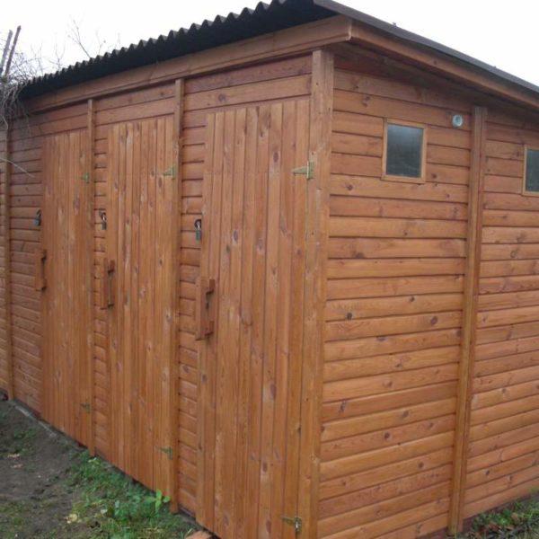 Хозблок с туалетом и душем Ф-3 №1 3х1х2.1м