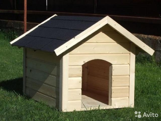 Конура для собаки Ж-10 №1 0.6х0.6х0.7 м