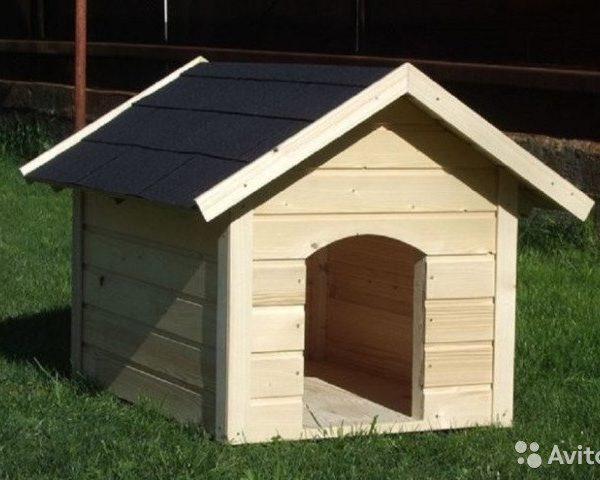 Конура для собаки Ж-10 №6 1.0х1.5х0.9 м