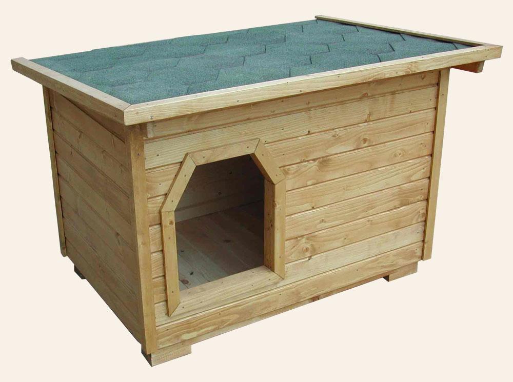 Конура для собаки Ж-7 №4 1.0х0.8х0.8 м