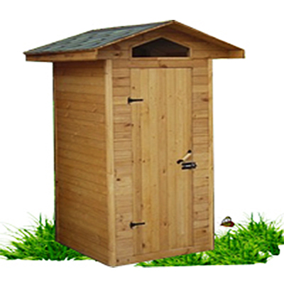Туалет дачный деревянный Домик К-2 №6 1.5х1.5х2.4  м