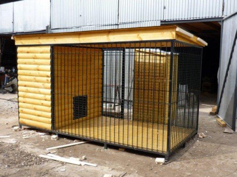 Вольер для собак Л-8 №1 1.5х2.0х1.6м