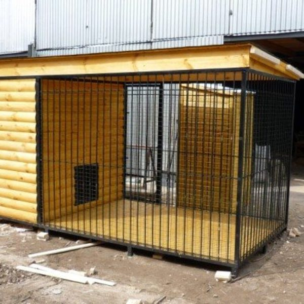 Вольер для собак Л-8 №4 3.0х2.0х2.0м