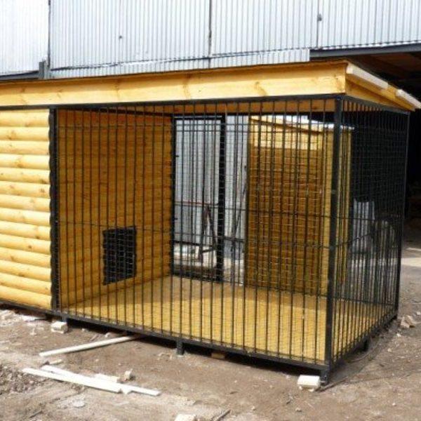 Вольер для собак Л-8 №6 4.0х2.0х2.0м