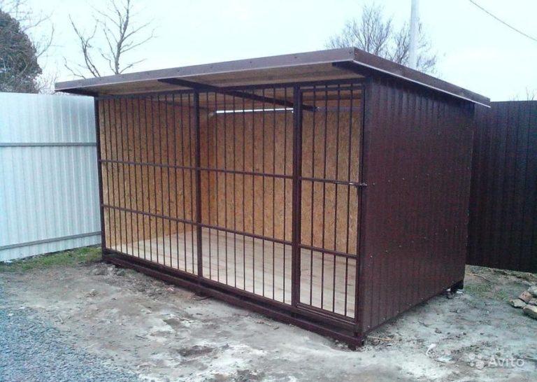 Вольер для собак Л-14 4х2х2 м