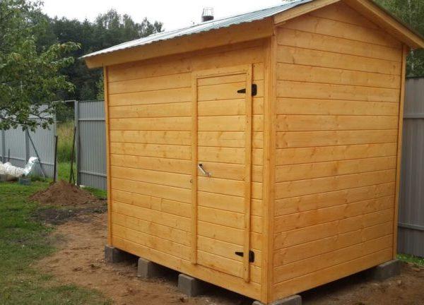 Душ для дачи деревянный Д-13 №7 4х2х2.3 м